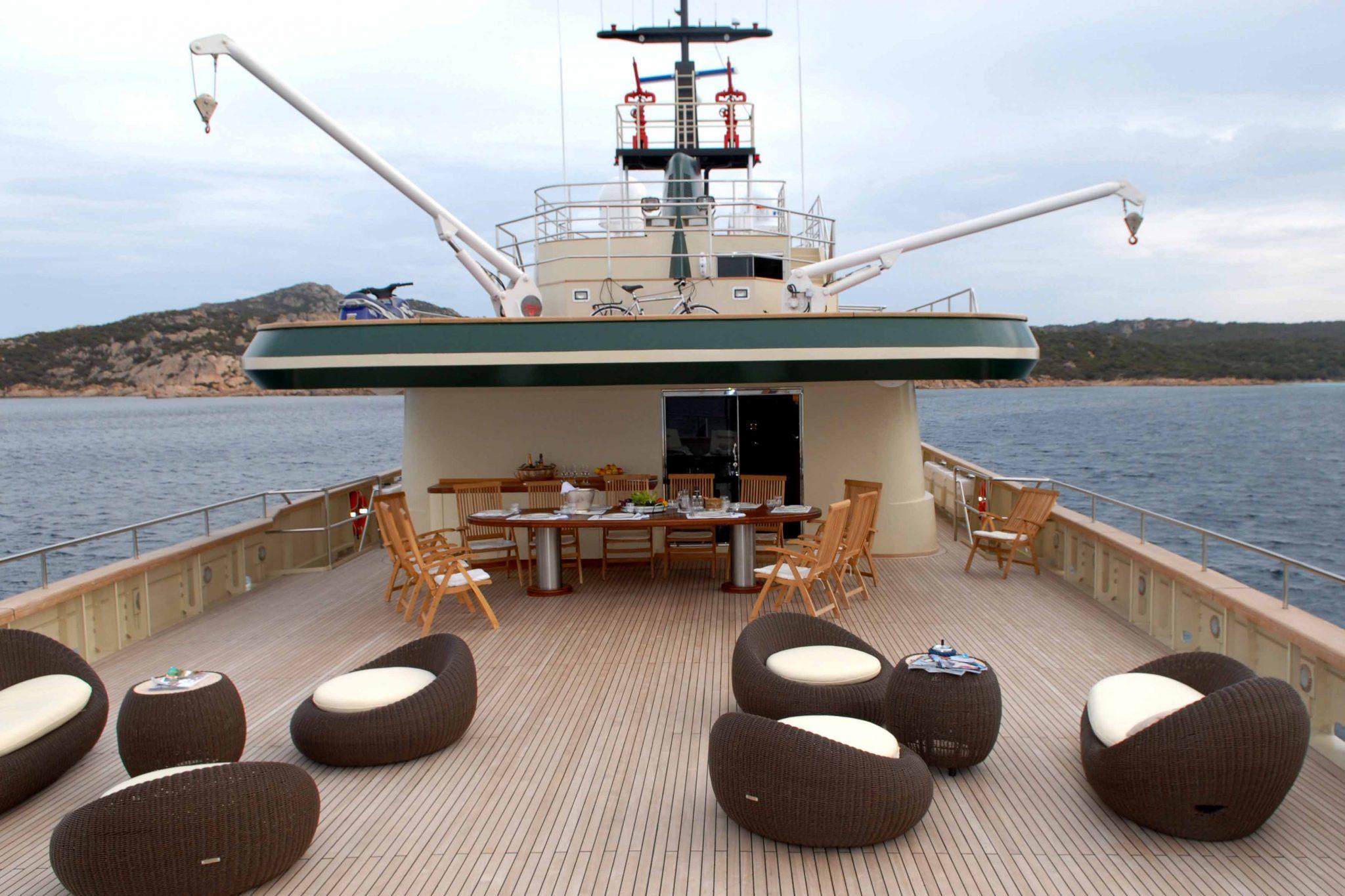 Ariete Primo luxry yacht broker
