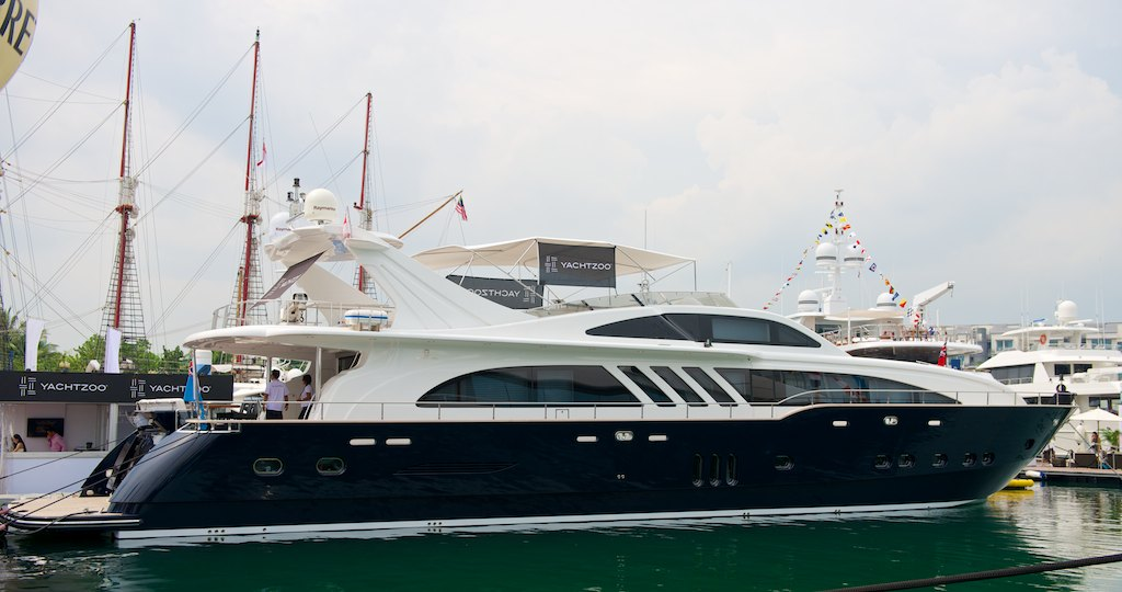 M/Y BLUE SAPPHIRE – Sold in-house