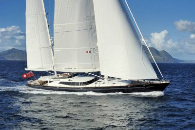 S/Y DRUMBEAT yacht for charter