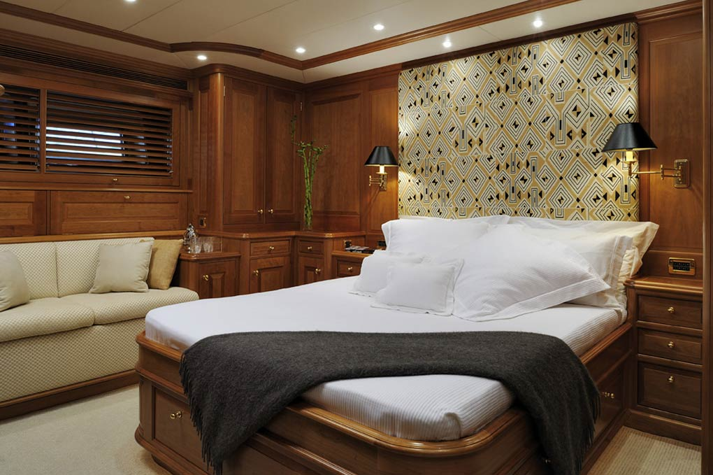 Cabin on a yacht for charter S/Y Drumbeat