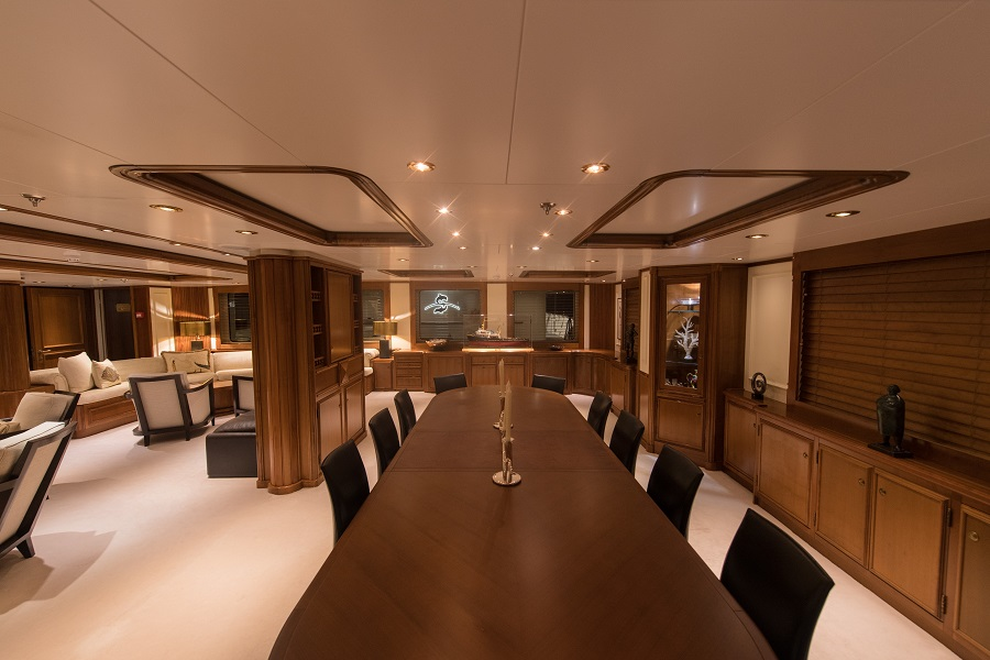 Superyacht charter seawolf
