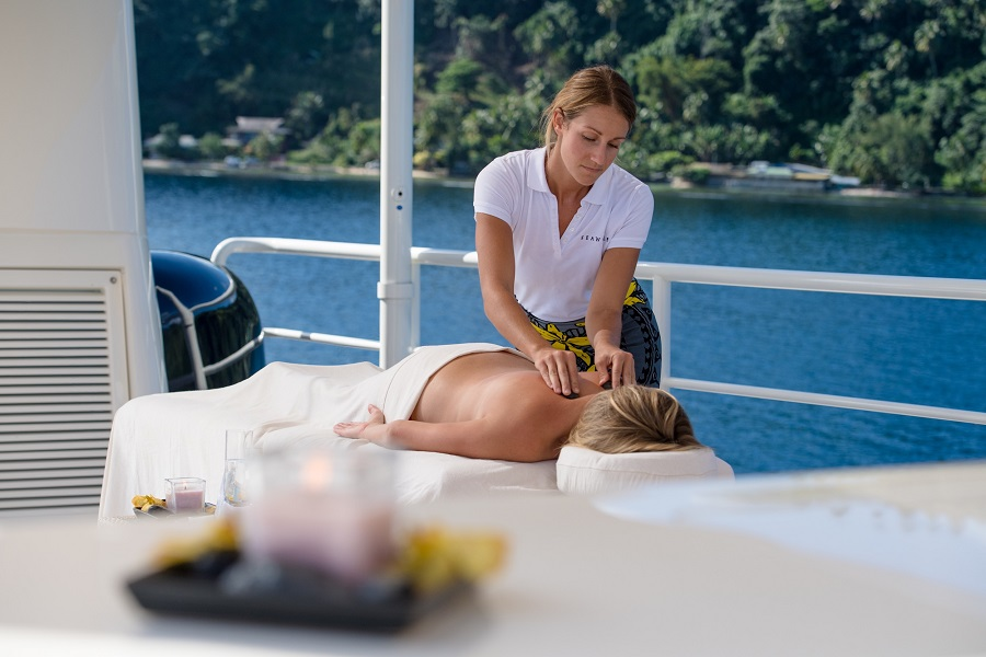 Image result for image massage on a yacht