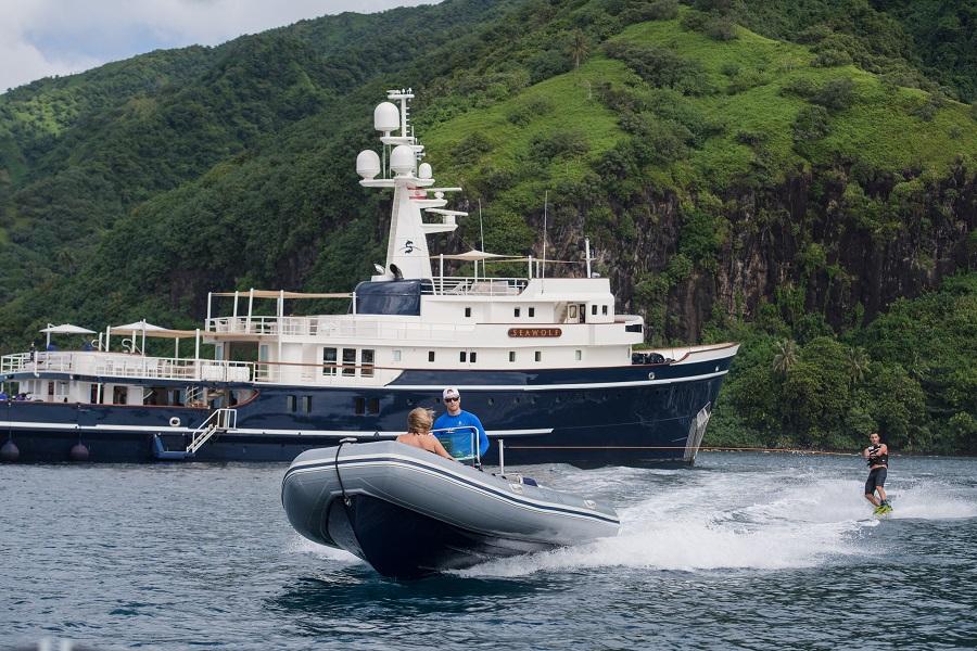 m/y seawolf luxury motor yacht charter