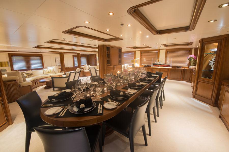 luxury motor yacht seawolf for charter