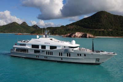 M/Y IDOL yacht for charter