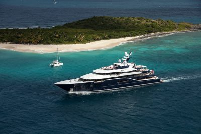 M/Y SOLANDGE yacht for charter with YACHTZOO
