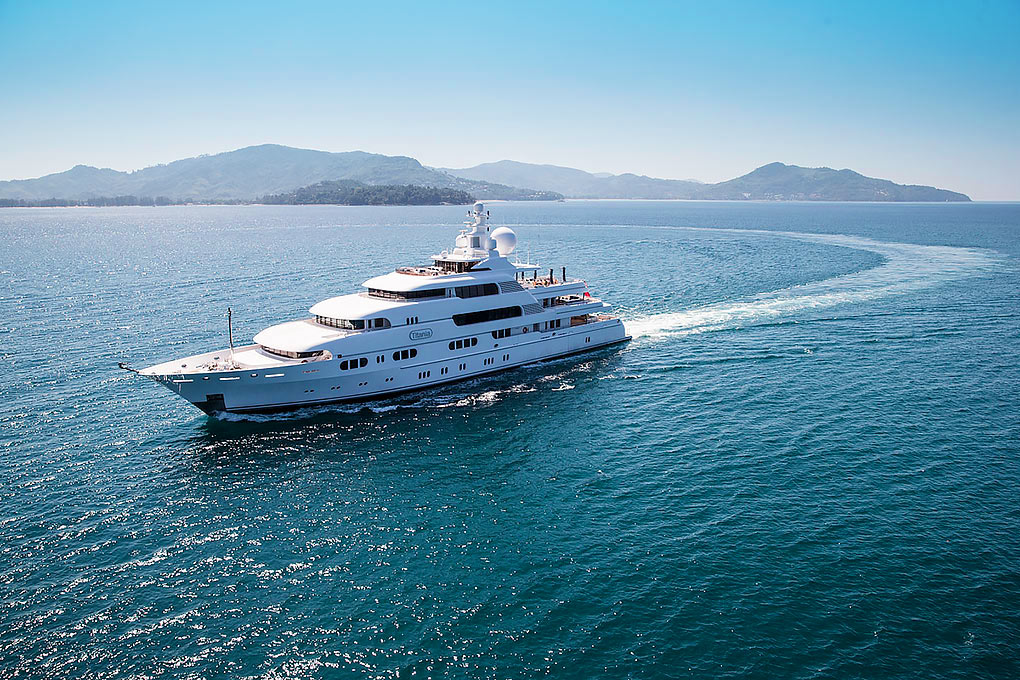 M/Y TITANIA yacht for charter with YACHTZOO