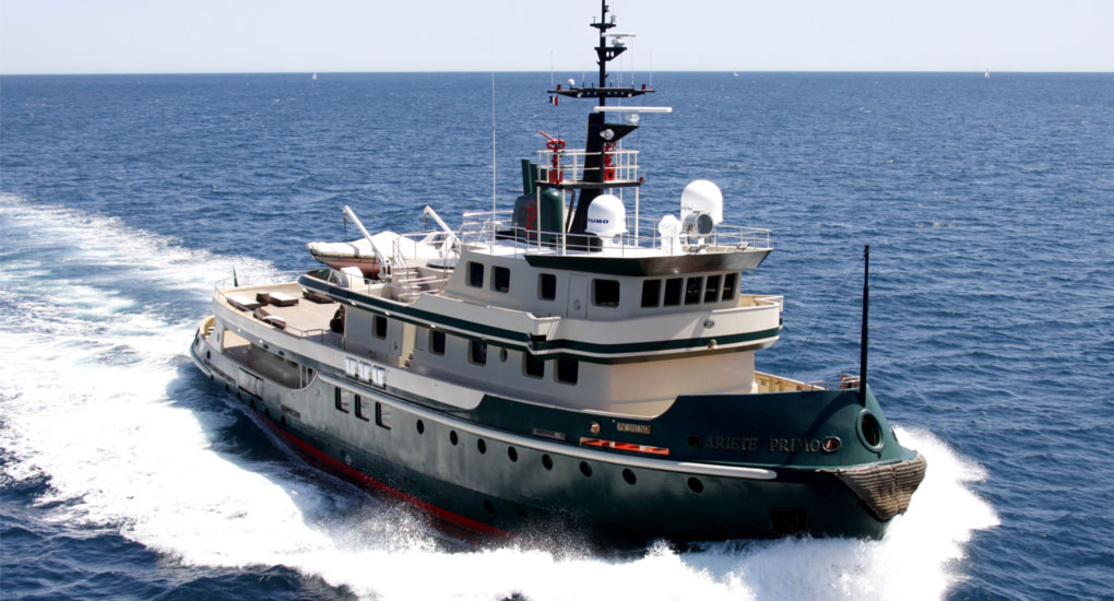 M/Y ARIETE PRIMO yacht for sale