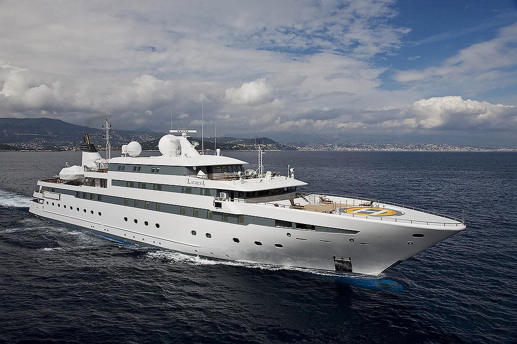 M/Y LAUREN L yacht for charter