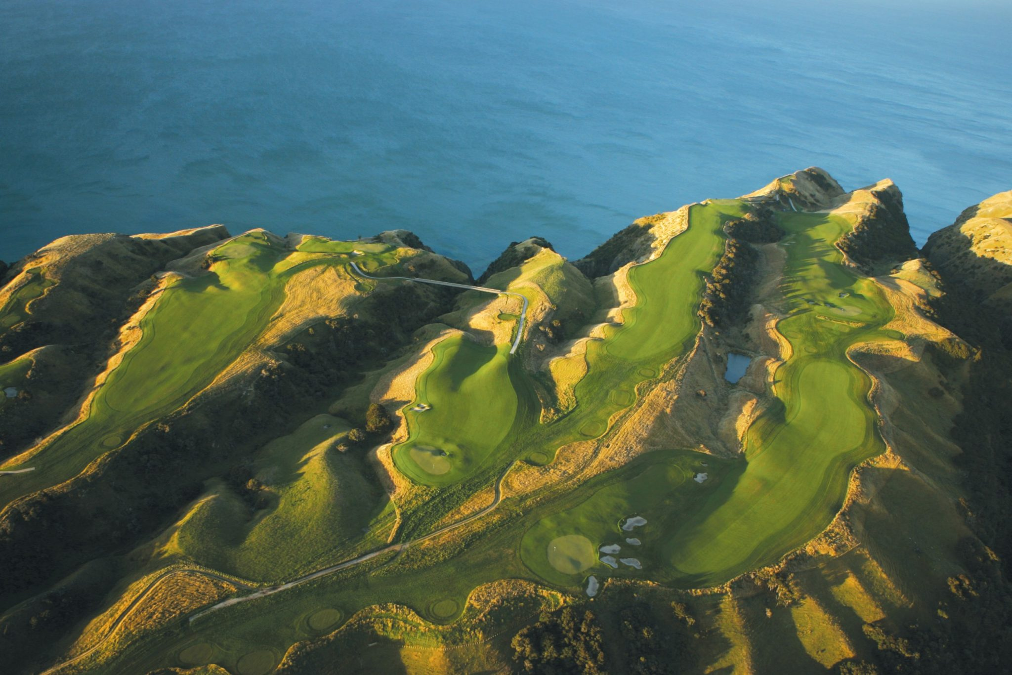 Best Golf Courses - Cape Kidnappers, Hawke's Bay. New Zealand (Photo by David Cannon/Getty Images)