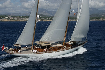 yacht for charter S/Y TIZIANA