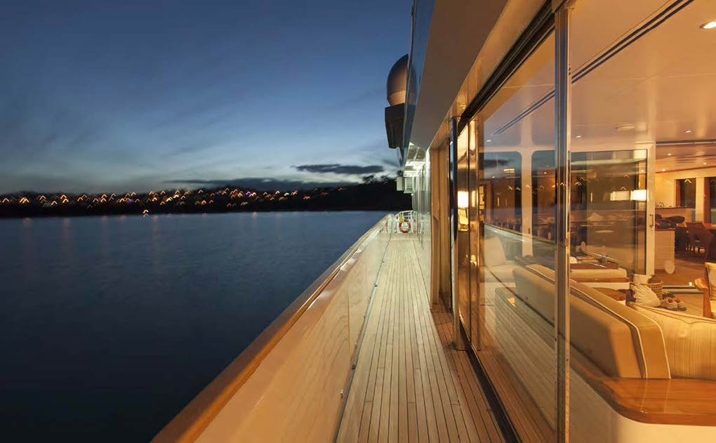deck on a yacht for charter yacht for charter M/Y SuRi