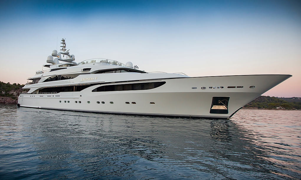 M/Y LIONESS V yacht for charter