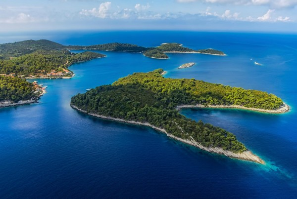 Islands on a luxury yacht charter Croatia