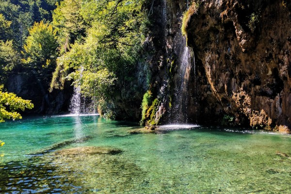 National Park on luxury yacht charter Croatia