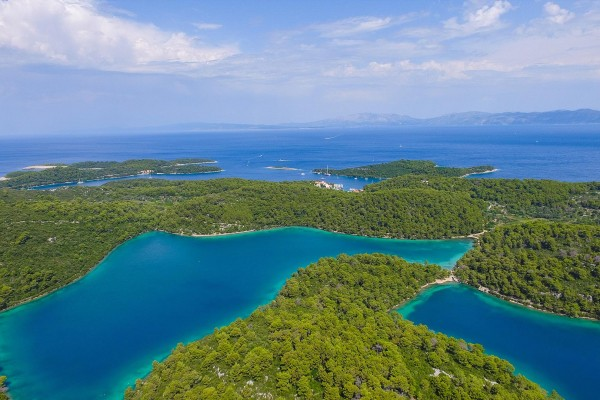 Wetlands on luxury yacht charter Croatia