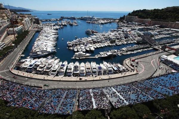 Port Hercule Grand Prix luxury yacht charter Monaco