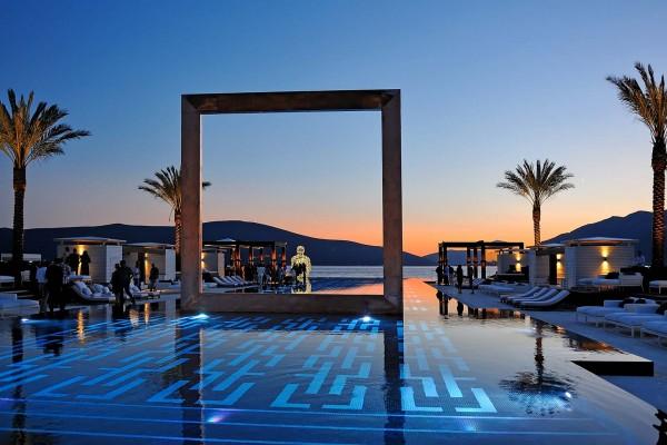 Porto Montengro marina on luxury yacht charter in Montenegro