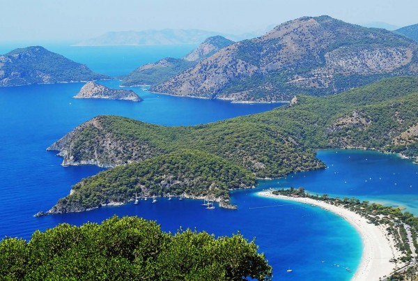 The views enjoyed on a luxury yacht charter Turkey