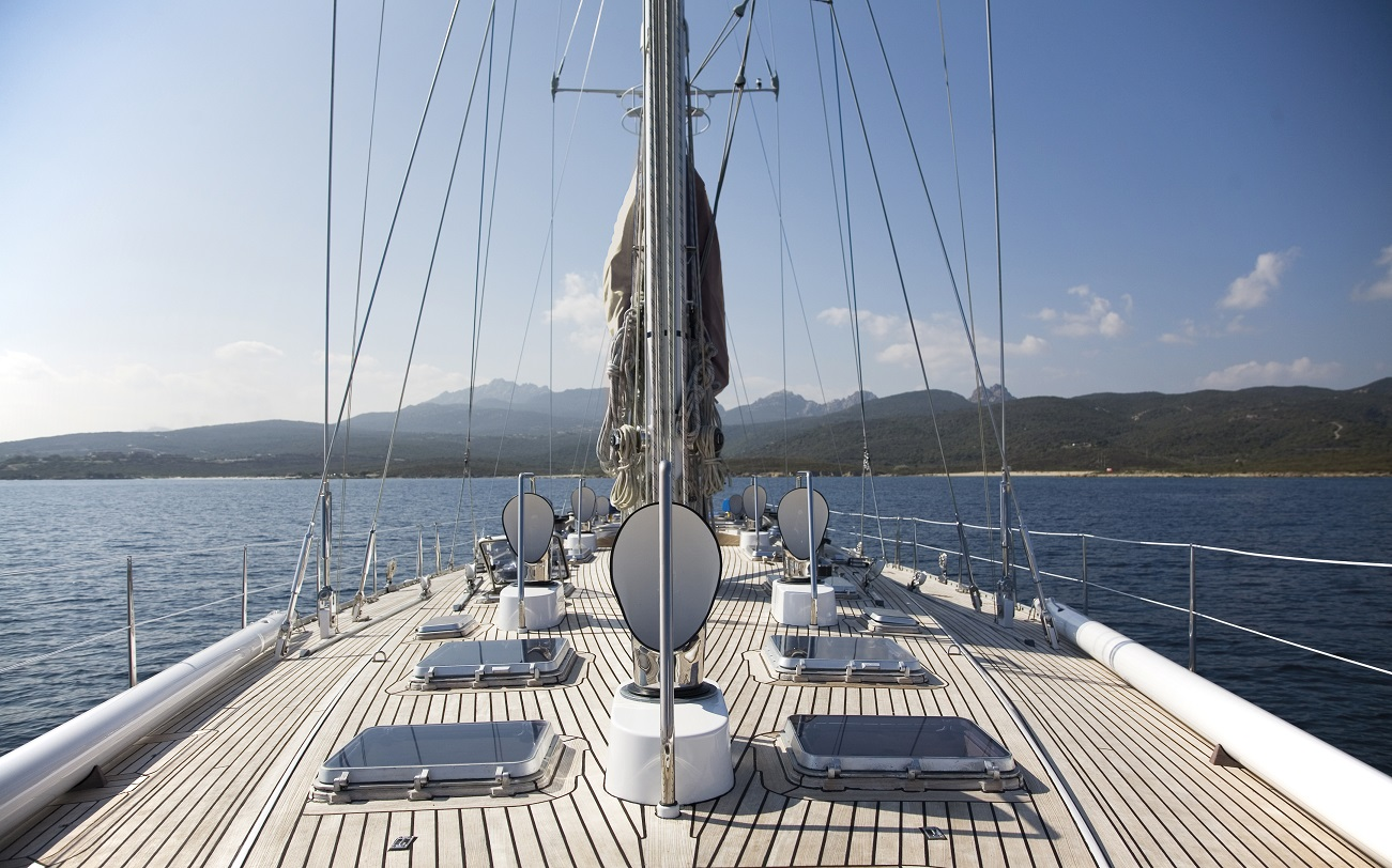S/Y CYCLOS II for charter deck