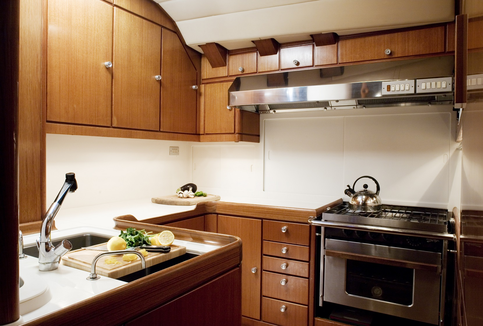 S/Y CYCLOS II yacht for charter kitchen area