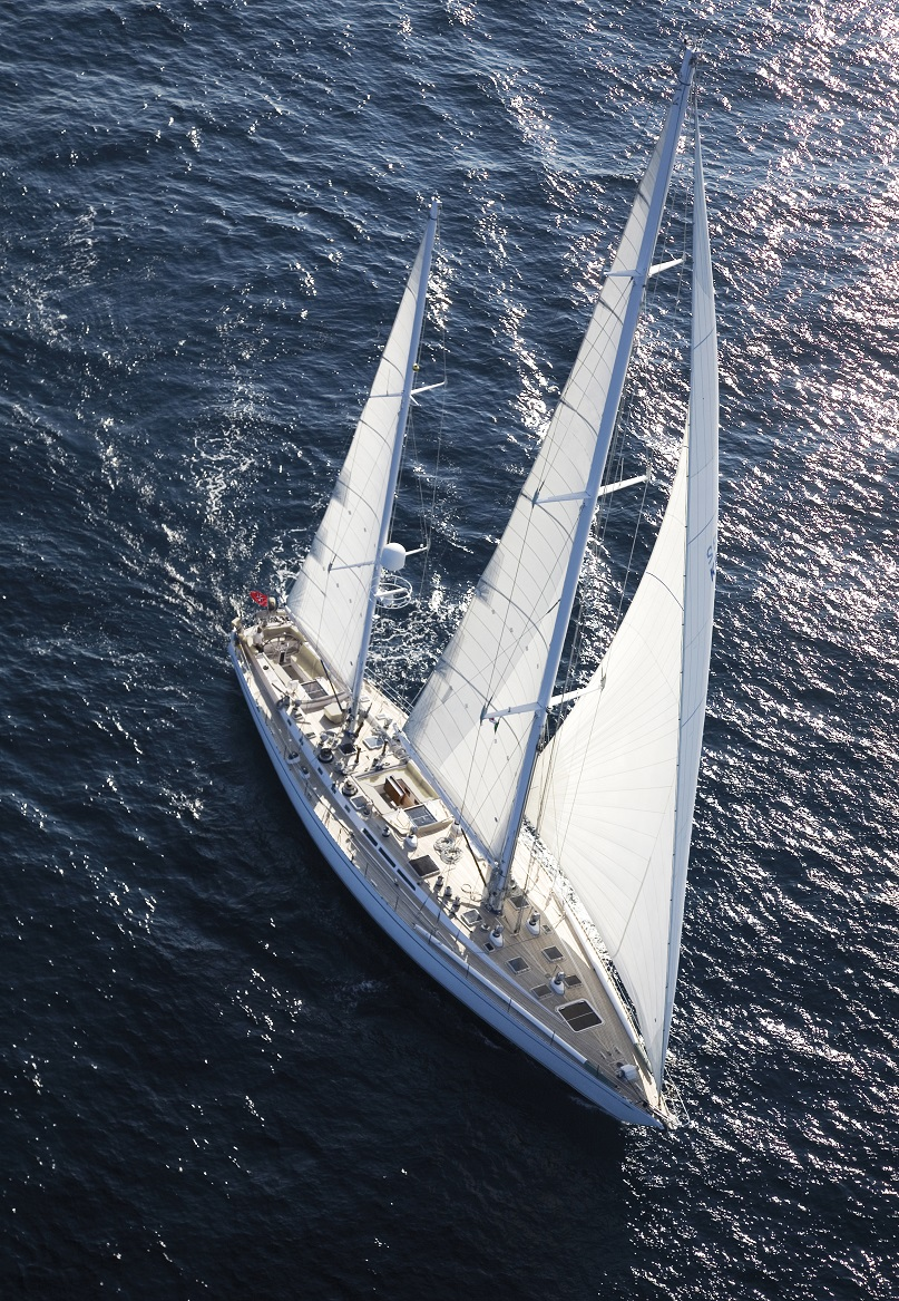 luxury yacht for charter S/Y CYCLOS II