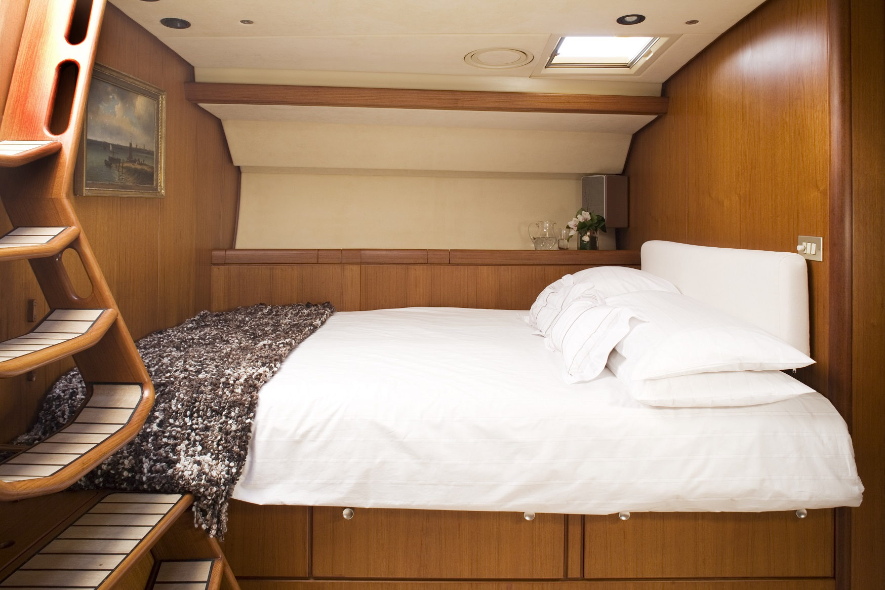 S/Y CYCLOS II yacht for charter bedroom space