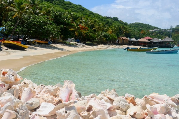 paradise island mustique st vincent and the grenadines caribbean west indies