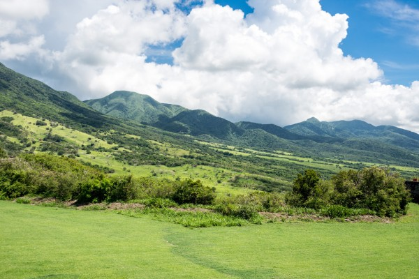 Landscape on the Island of St Kitts