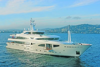 M/Y MARAYA yacht for charter at anchor