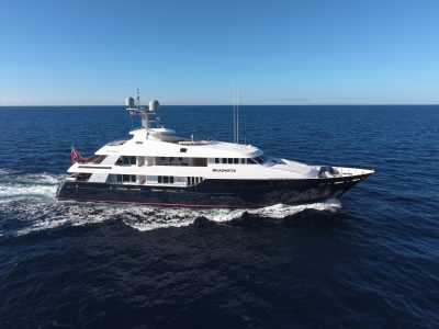 M/Y BROADWATER yacht for charter