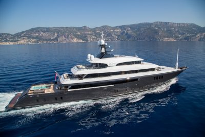 M/Y ICON yacht for charter