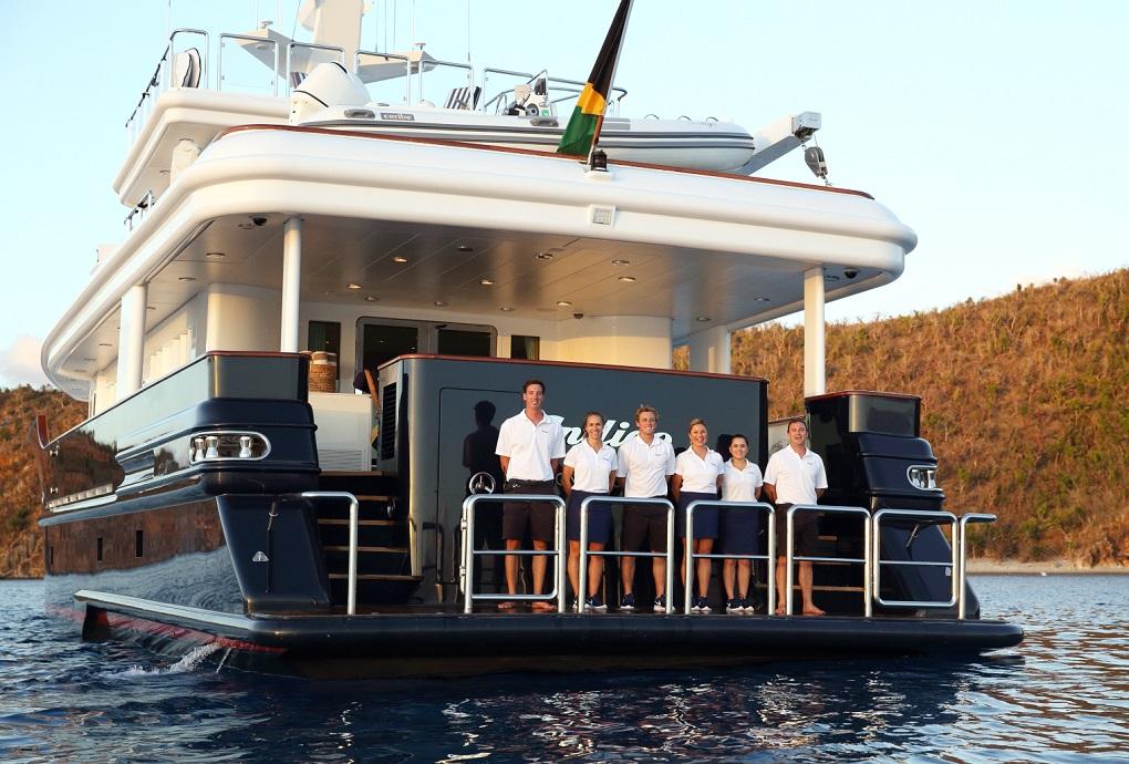 M/Y INDIGO yacht for charter crew