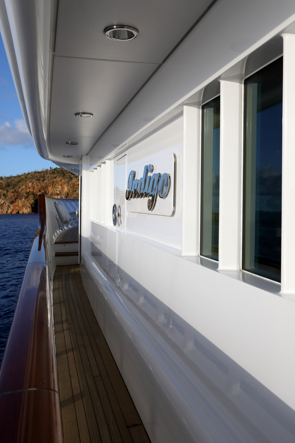 luxury yacht for charter M/Y INDIGO
