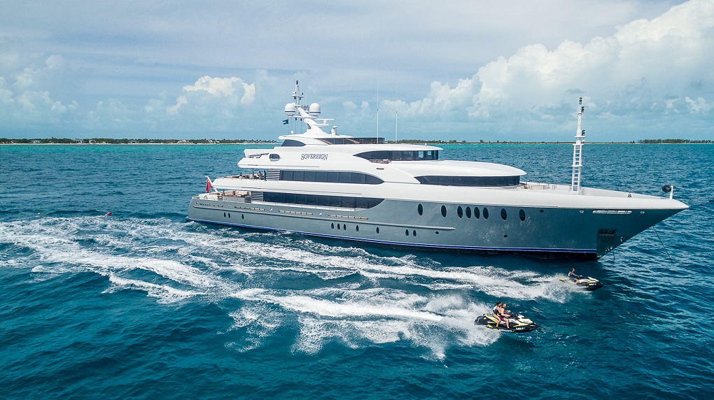 M/Y SOVEREIGN yacht for charter
