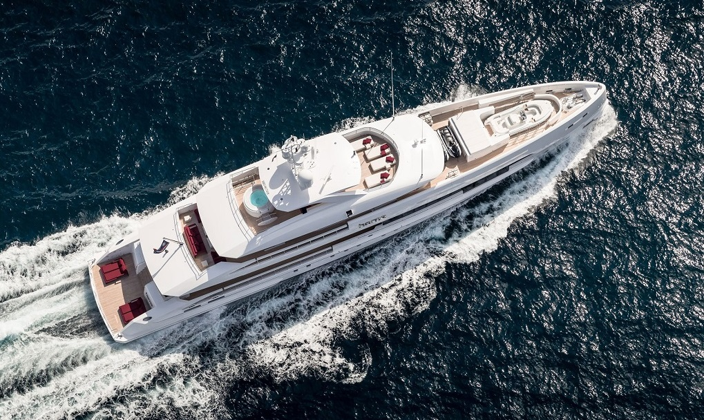 luxury m/y Home yacht for charter
