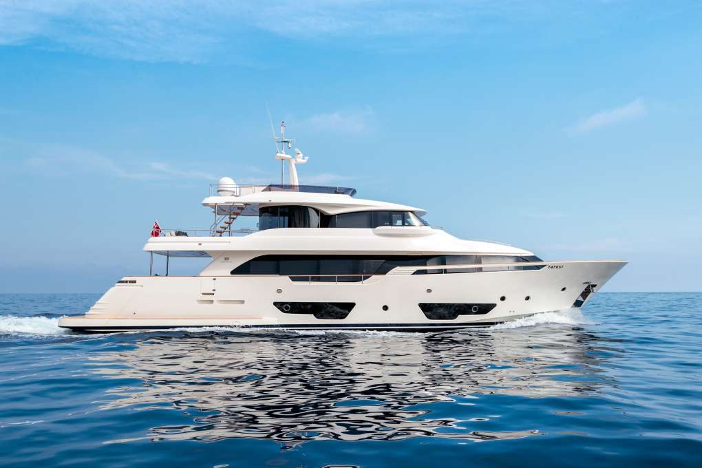 M/Y SEVEN yacht for sale