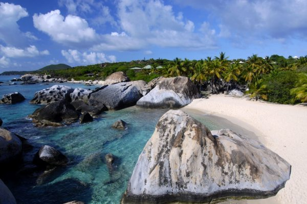 Virgin Gorda on luxury yacht charter virgin islands