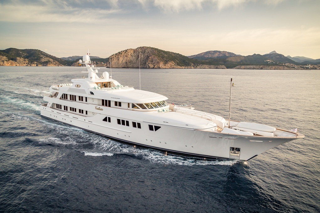 M/Y CALLISTO yacht for charter