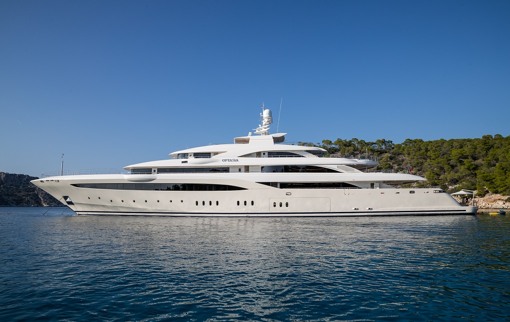 M/Y O'PTASIA yacht for charter with YACHTZOO