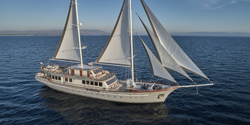 Superyacht CORSARIO listed for sale
