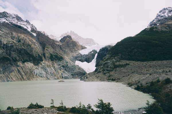 Glaciers on a Patagonia yacht charter