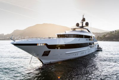 M/Y 52m STEEL yacht for sale
