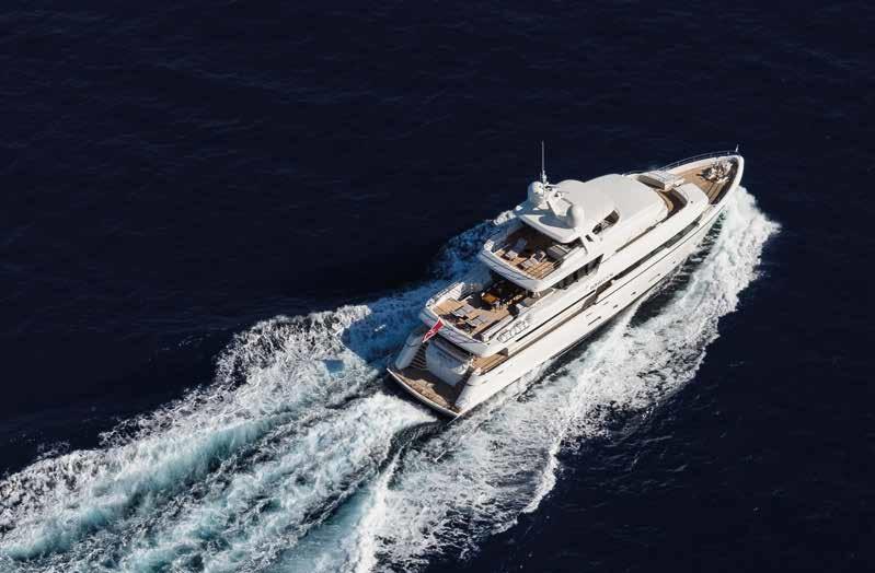 M/Y MOONEN Y201 yacht for sale sailing