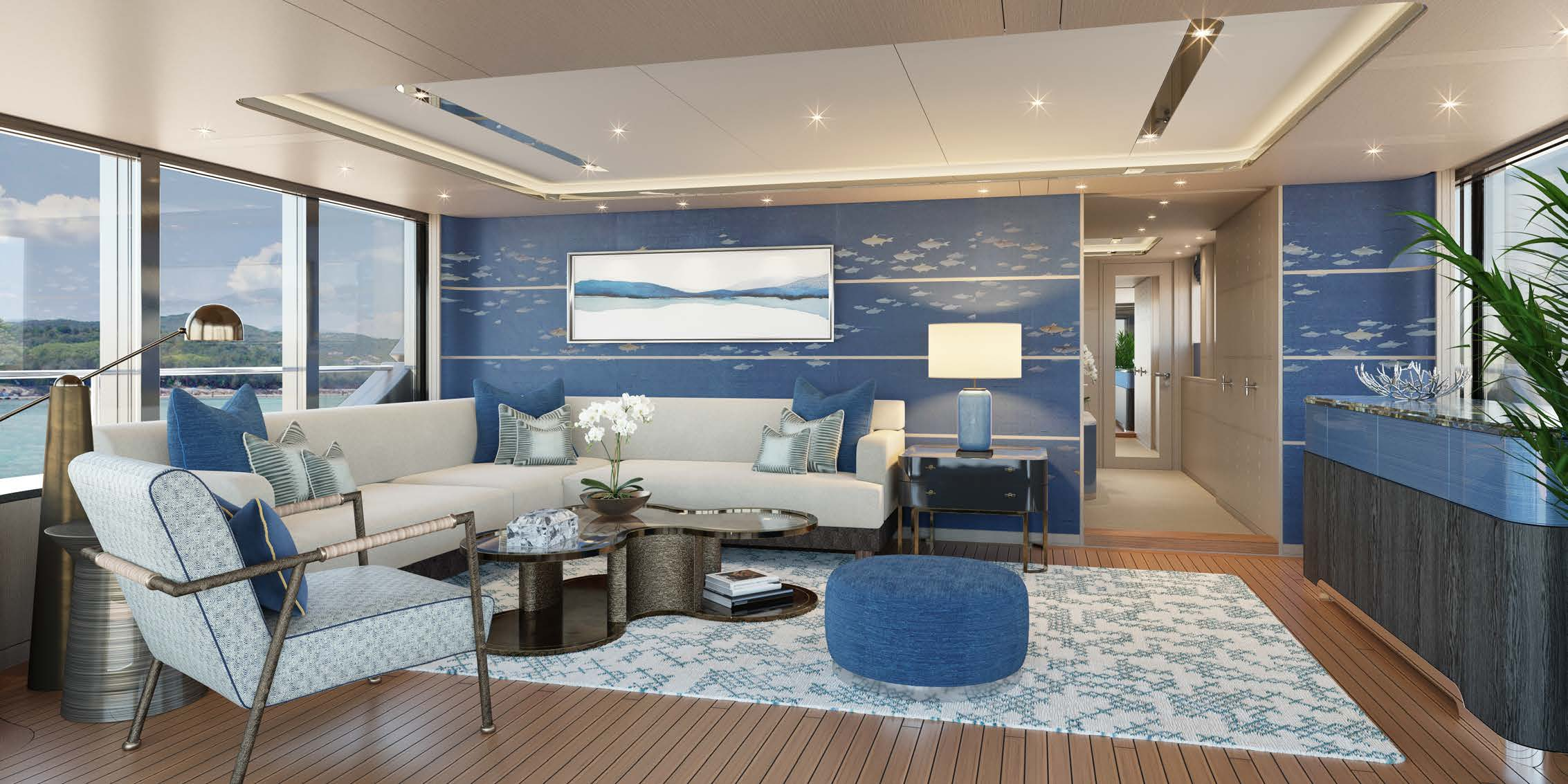 M/Y MOONEN Y201 yacht for sale salon