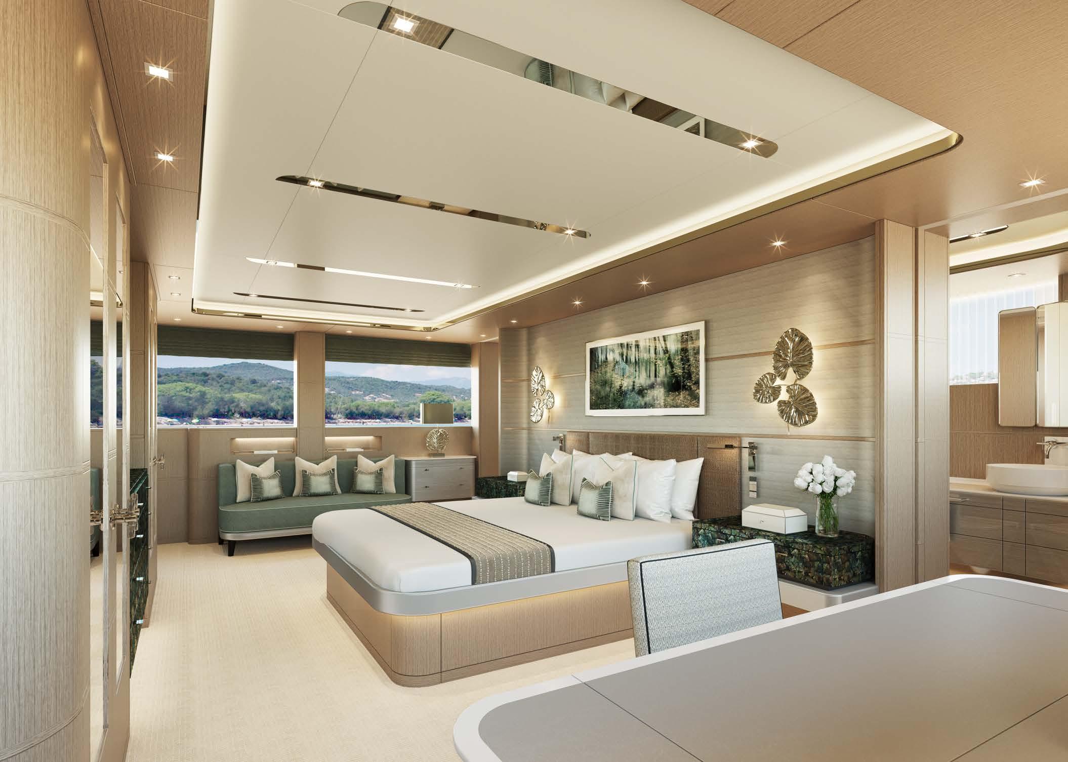 M/Y MOONEN Y201 yacht for sale master suite