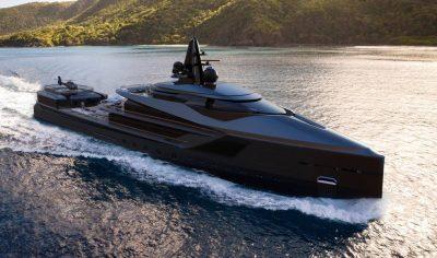 M/Y ESQUEL super yacht for sale underway