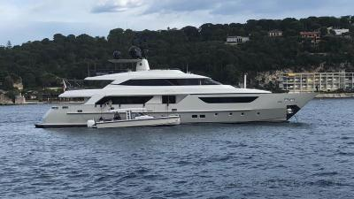 M/Y AWOL superyacht for sale
