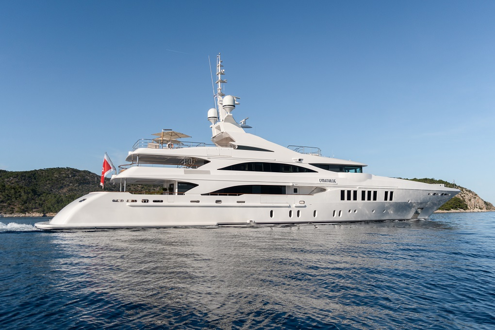 M/Y O'MATHILDE yacht for charter