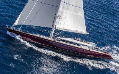 S/Y BLUSH yacht for charter in Perini Navi Cup